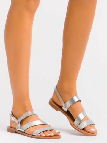 Sandale cod C1077 Silver