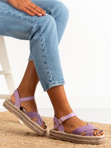 Sandale cod FB0045 Purple