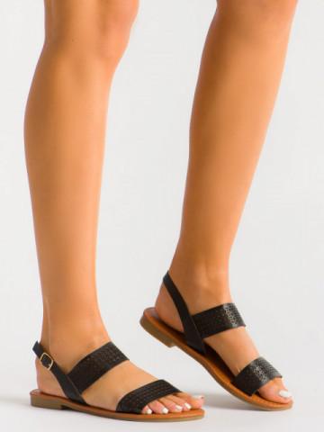 Sandale cod S060126Y Black