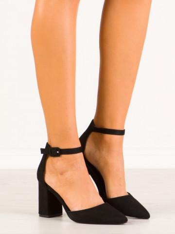 Sandale cu toc cod LL186 Black