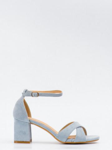 Sandale cu toc cod SK75 Blue