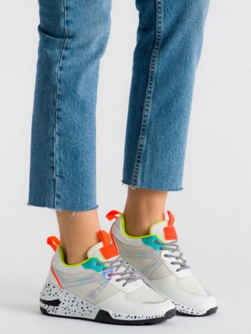 Pantofi sport cod ABC-317 White