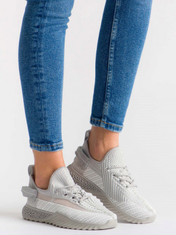 Pantofi sport cod 1653 Grey