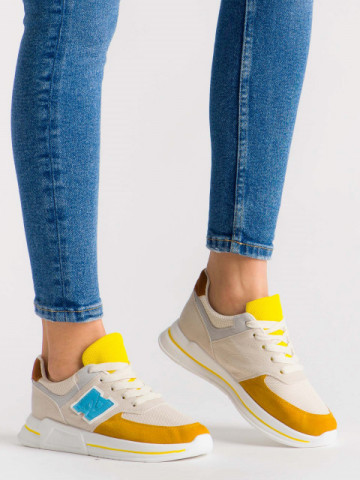 Pantofi sport cod ABC-311 Beige