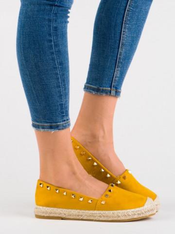 Espadrile cod 7236-26 Yellow