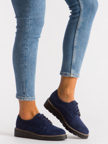 Pantofi casual cod 18-107A Blue