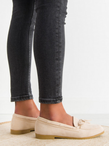 Pantofi casual cod 3394 Beige