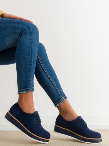 Pantofi casual cod 8998-45 Blue