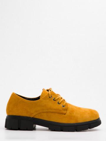 Pantofi casual cod AG05 Yellow