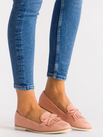 Pantofi casual cod B5005 Pink