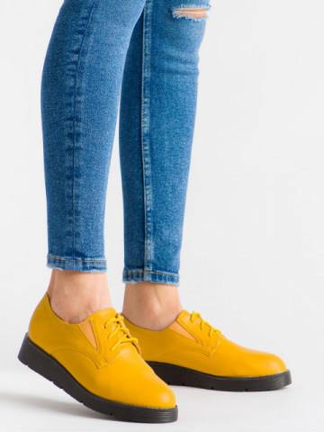 Pantofi casual cod EK0090A Yellow