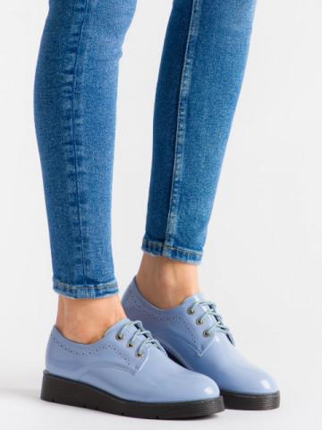 Pantofi casual cod EK0091 Blue