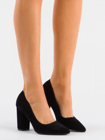 Pantofi cu toc cod 13A Black