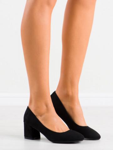 Pantofi cu toc cod 8989 Black