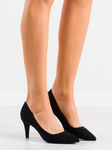 Pantofi cu toc cod 8F56 Black