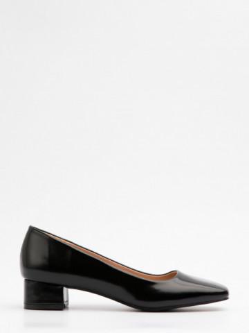 Pantofi cu toc cod A21-611 Black
