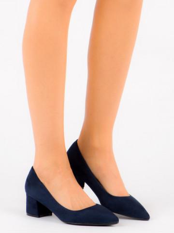 Pantofi cu toc cod FM3030 Blue