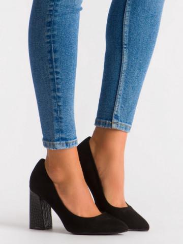 Pantofi cu toc cod OD0264 Black