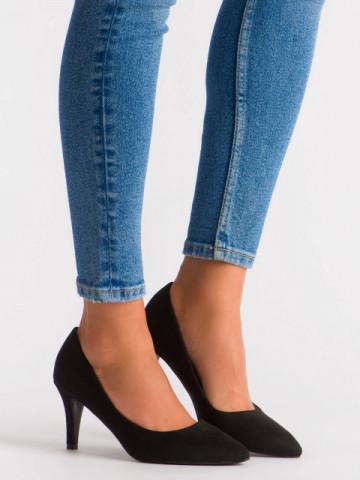 Pantofi cu toc cod OD0284 Black