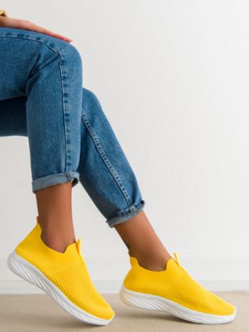 Pantofi sport cod 0128-4 Yellow