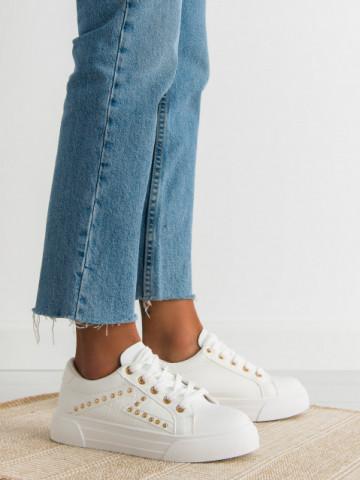 Pantofi sport cod 1062 White