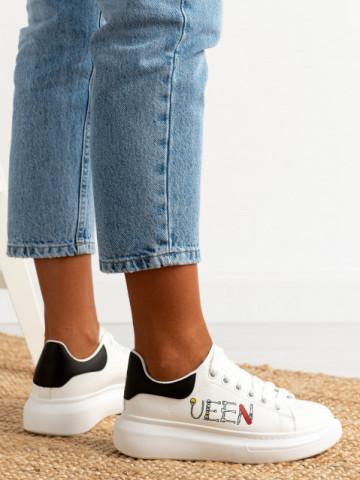 Pantofi sport cod 20C09 White/Black