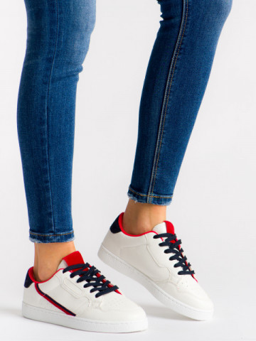 Pantofi sport cod 410 White/Navy
