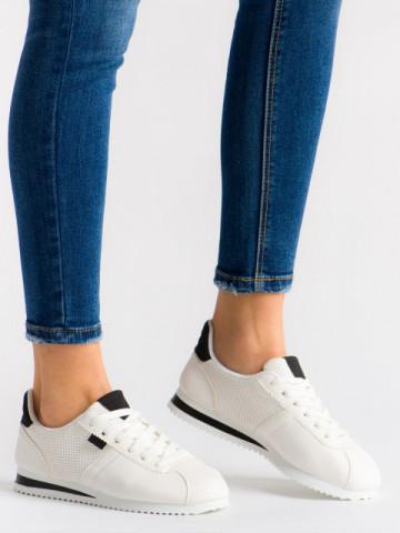 Pantofi sport cod 522-2 White/Black