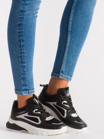 Pantofi sport cod 5822 Black