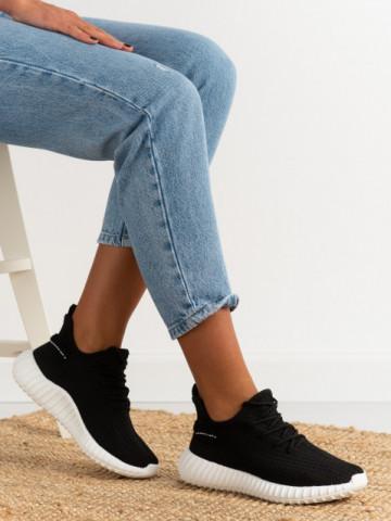 Pantofi sport cod 7817 Black/White