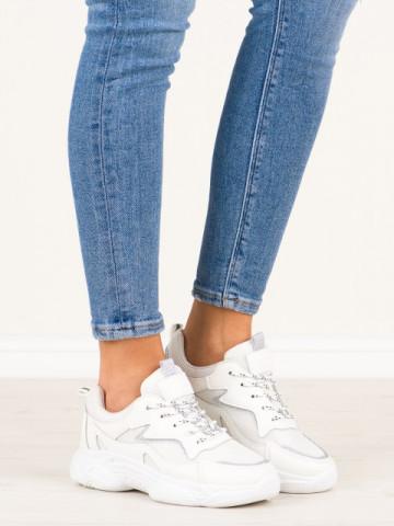 Pantofi sport cod 7939-SP White