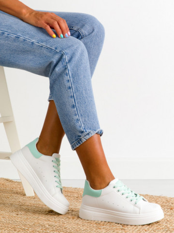Pantofi sport cod 8112 Green