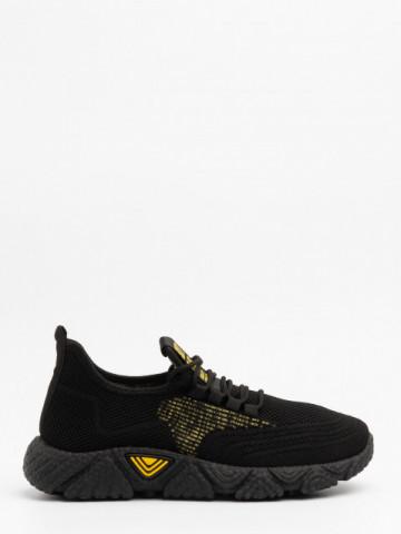 Pantofi sport cod 98007 Black/Yellow