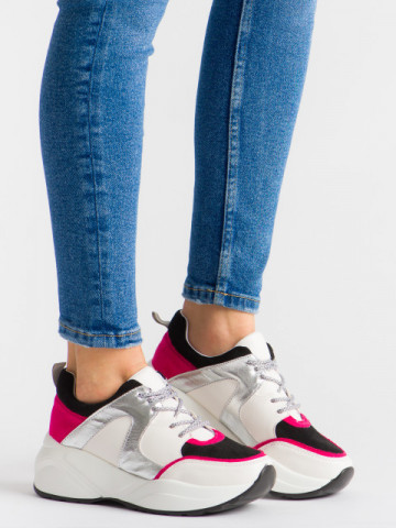 Pantofi sport cod A1001 Silver