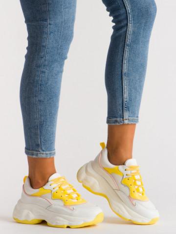 Pantofi sport cod A1106 Yellow