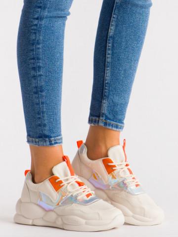Pantofi sport cod A88-65 Beige