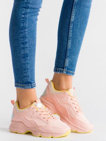 Pantofi sport cod ABC-316 Pink
