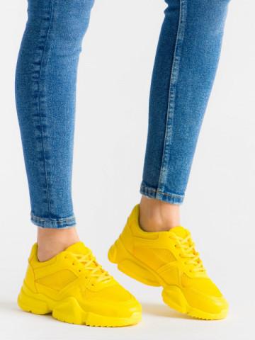 Pantofi sport cod B02 Yellow