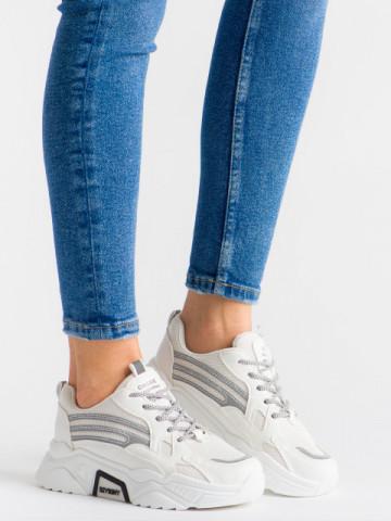Pantofi sport cod B51 White