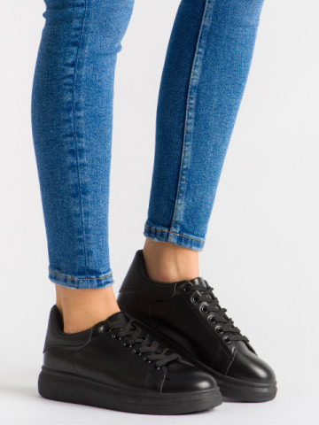 Pantofi sport cod B80 Black/Black