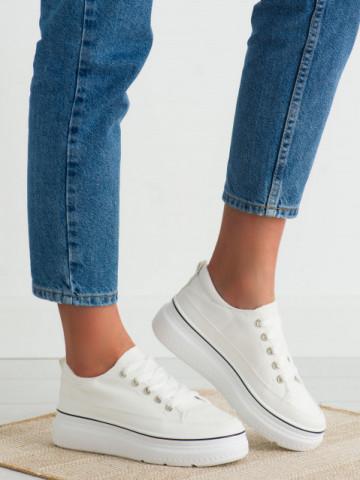 Pantofi sport cod BL228 White
