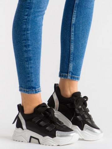 Pantofi sport cod C199 Black