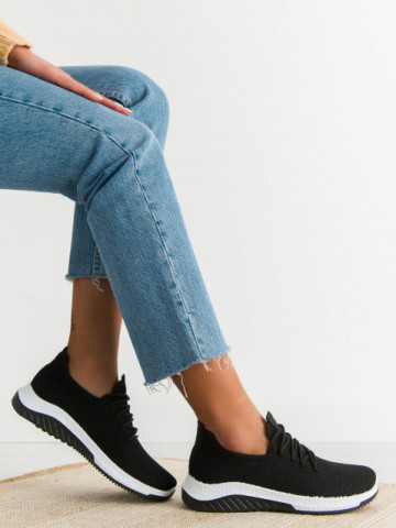 Pantofi sport cod D6998 Black