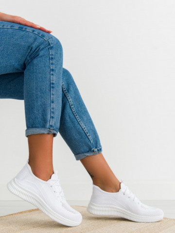 Pantofi sport cod E2 White