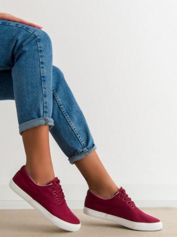 Pantofi sport cod H7005 Wine