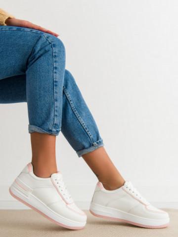 Pantofi sport cod HY626-10 White/Pink