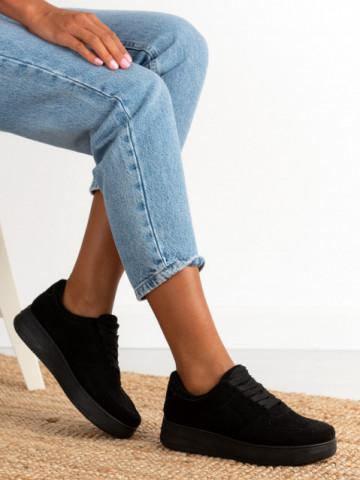 Pantofi sport cod J-1851 Black