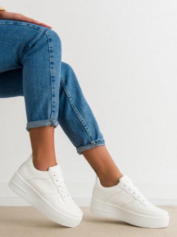 Pantofi sport cod J190 White
