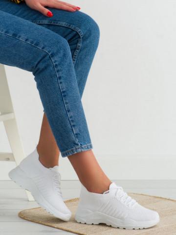 Pantofi sport cod LA171 White