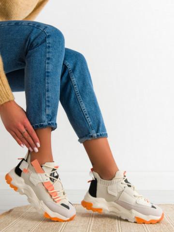 Pantofi sport cod LGYED10 Beige